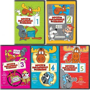 AU $90 BUY: Rocky & Bullwinkle & Friends Complete Series Seasons 1-5 on DVD in Australia