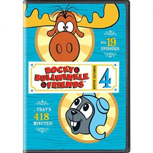 AU $21 BUY: Rocky & Bullwinkle & FriendsSeason 4 Anime DVD in Australia