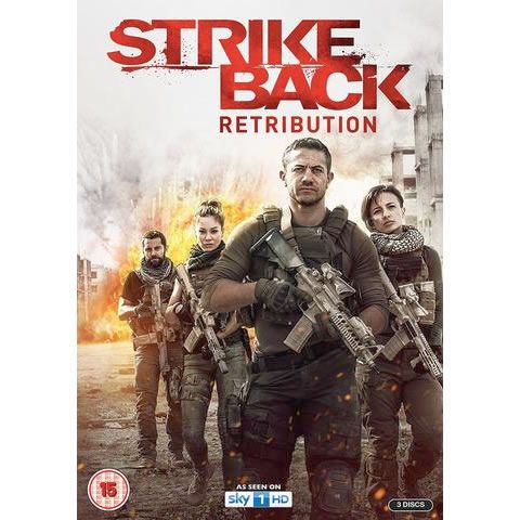 AU $28 BUY: Strike Back: Retribution on DVD in Australia