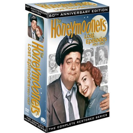 AU $75 BUY: The Honeymooners: Lost Episodes 1951-1957 Complete Series on DVD in Australia