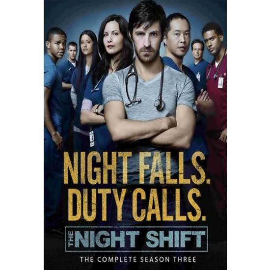AU $28 BUY: The Night Shift - Season 3 on DVD in Australia