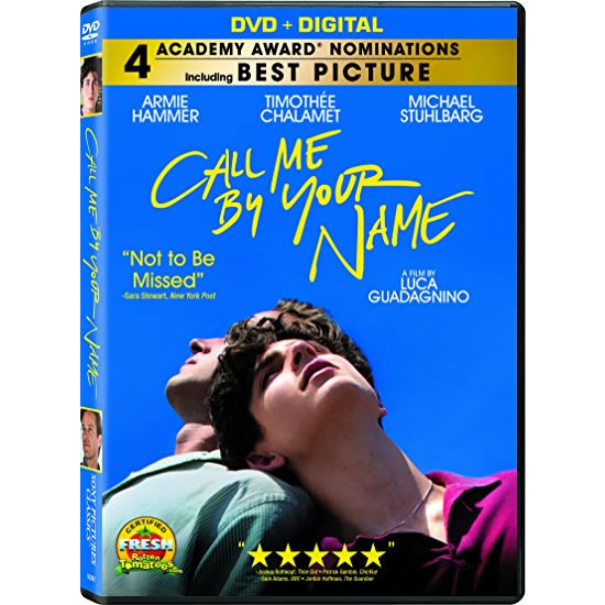 AU $22 BUY: Call Me by Your Name Movie on DVD in Australia