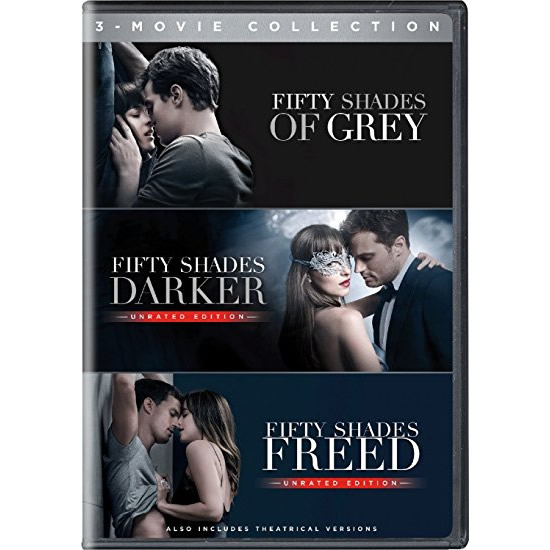 AU $32 BUY: Fifty Shades: 3-Movie Collection on DVD in Australia