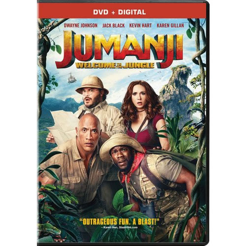 AU $22 BUY: Jumanji: Welcome to the Jungle Movie on DVD in Australia