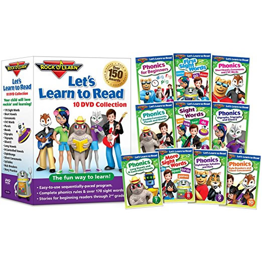 AU $65 BUY: Let's Learn to Read by Rock N Learn Kids Movie in Australia