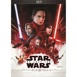 AU $22 BUY: Star Wars: The Last Jedi Movie on DVD in Australia