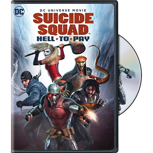 AU $22 BUY: Suicide Squad: Hell To Pay Movie on DVD in Australia