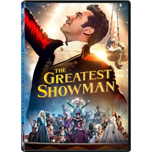 AU $22 BUY: The Greatest Showman Movie on DVD in Australia