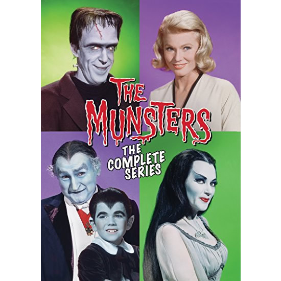 AU $55 BUY: The Munsters Complete Series on DVD in Australia