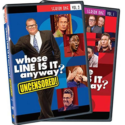 AU $24 BUY: Whose Line Is It Anyway - Season 1 Vol. 1 and 2 on DVD in Australia
