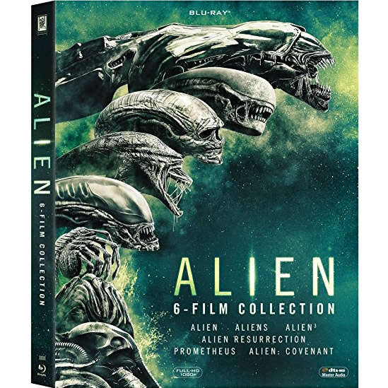 AU $43 BUY: Alien 6-film Collection DHD Movie on Blu-ray in Australia