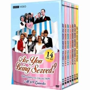 AU $68 BUY: Are You Being Served Complete Series on DVD in Australia