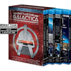 AU $110 BUY: Battlestar Galactica: The Definitive Collection on Blu-ray in Australia
