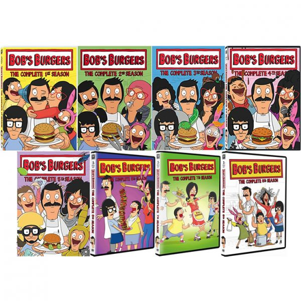 AU $118 BUY: Bob's Burgers Complete Series Seasons 1-8 on DVD in Australia