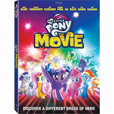 AU $18 BUY: My Little Pony: The Movie on DVD in Australia