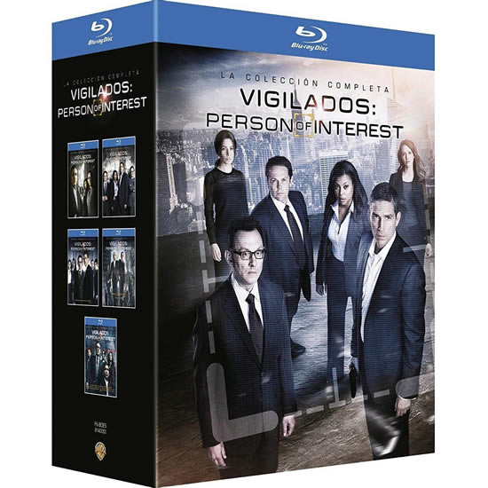 AU $110 BUY: Person of Interest Complete Series on Blu-ray in Australia