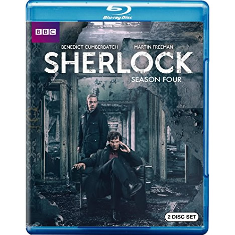 AU $24 BUY: Sherlock - Season 4 on Blu-ray in Australia