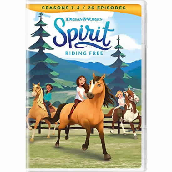 AU $22 BUY: Spirit: Riding Free Seasons 1-4 Kids Movie in Australia