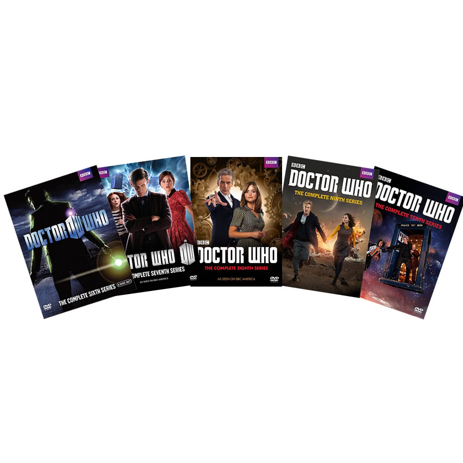 AU $110 BUY: Doctor Who Complete Series Seasons 6-10 on DVD in Australia