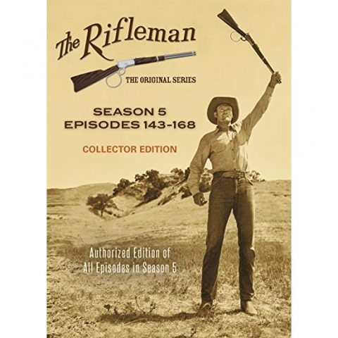 AU $50 BUY: The Rifleman Collector Edition - Season 5 on DVD in Australia