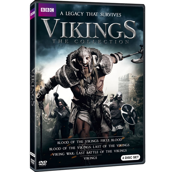 AU $28 BUY: Vikings: The Collection on DVD in Australia