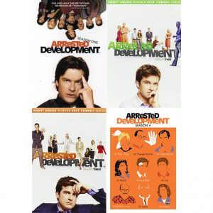 AU $56 BUY: Arrested Development Complete Series Seasons 1-4 on DVD in Australia