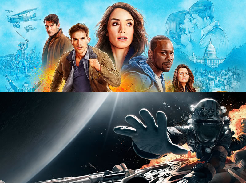 timeless-season-2 and expanse-season-3