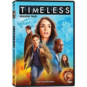 AU $28 BUY: Timeless - Season 2 on DVD in Australia