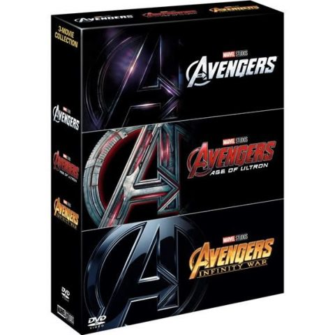 BUY: Marvel's The Avengers 3-Movie Collection on DVD in Australia