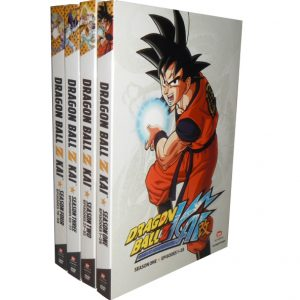 BUY: Dragon Ball Z Kai Seasons 1-4 Kids Movie on DVDs in Australia