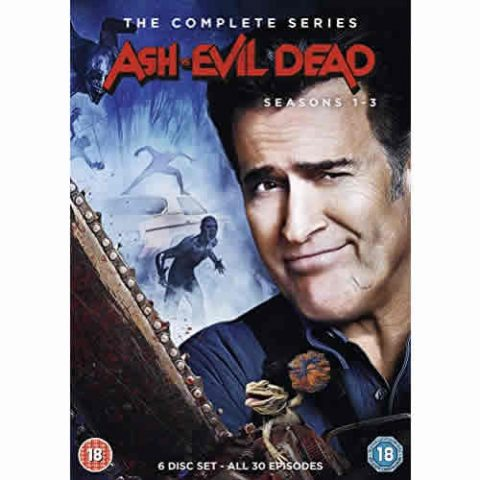 BUY: Ash vs Evil Dead Complete Series 1-3 on DVD in Australia