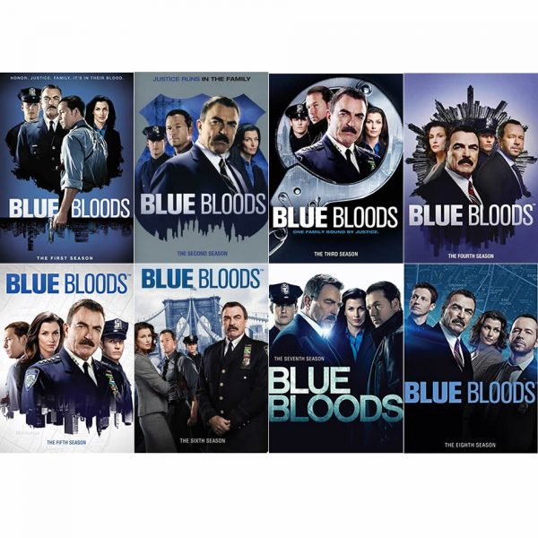 BUY: Blue Bloods Complete Series 1-8 Pack on DVD in Australia