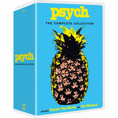AU $116 BUY: Psych Complete Series on DVD in Australia