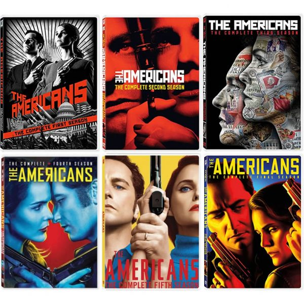 BUY: The Americans Complete Series 1-6 on DVD in Australia