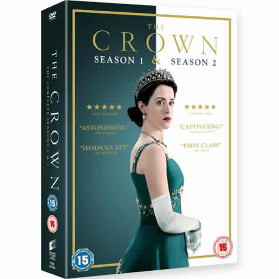 BUY: The Crown - Season 1 & 2 on DVD in Australia