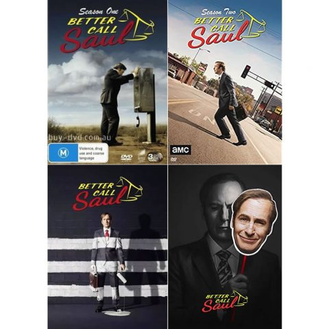 Buy DVD Online in Australia : Better Call Saul Complete Series 1-4