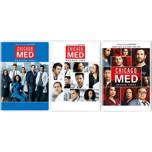 Buy DVD Online in Australia : Chicago Med Complete Series 1-3
