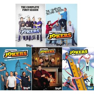 Buy DVD Online in Australia : Impractical Jokers Complete Series 1-5