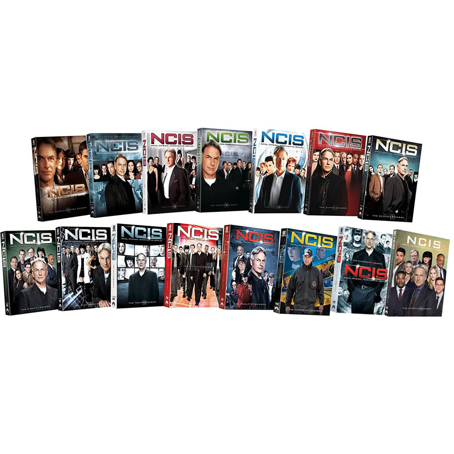 Buy DVD Online in Australia : NCIS Complete Series 1-15