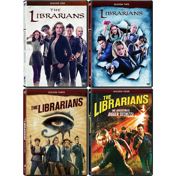 Buy DVD Online in Australia : The Librarians Complete Series 1-4