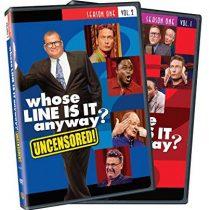 BUY: Whose Line Is It Anyway - Season 1 Vol. 1 and 2 on DVD in Australia