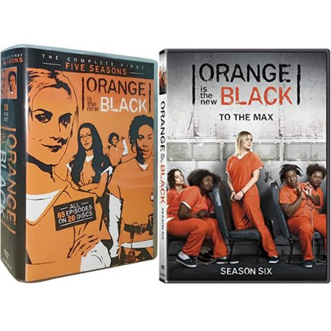 Orange Is The New Black: Complete Series 1-6 DVD