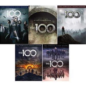 The 100 Complete Series 1-5 Box Set DVD Australia (AU $57.59 Free Shipping)