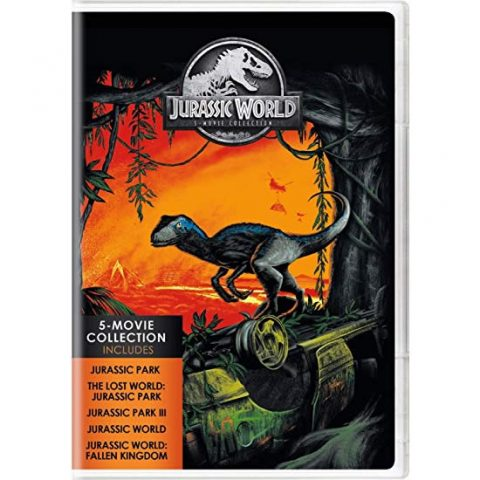 Jurassic World 5-Movie Collection DVD