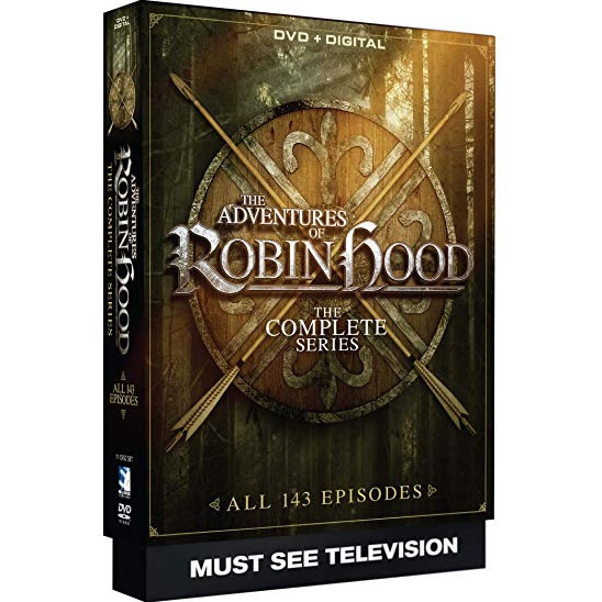 The Adventures of Robin Hood Complete Series DVD Box Set