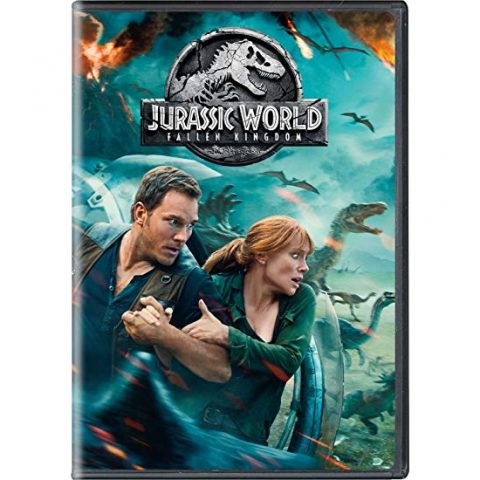 Jurassic World: Fallen Kingdom DVD