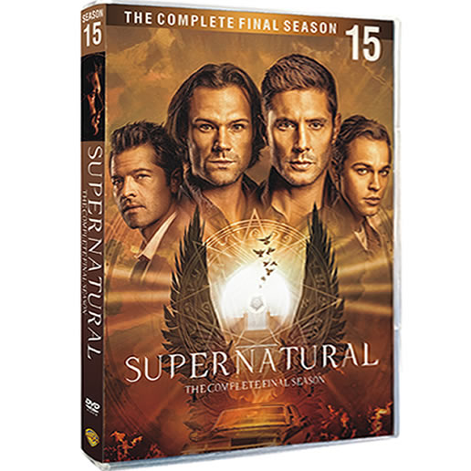 Supernatural, Season 15 DVD