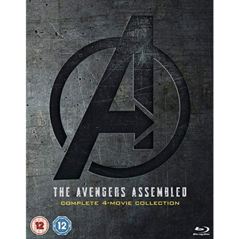The Avengers Assembled 1-4 Complete 4-Movie Collection DVD