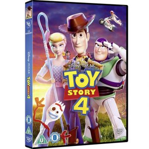 Toy Story 4 Kids Movie DVD