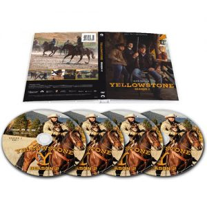 yellowstone season 2 dvd
